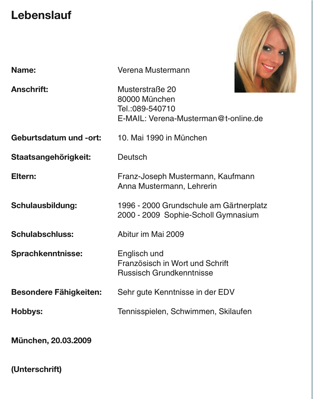 Azubi Magazin München   Beispiele